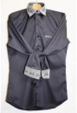 Edelweiss Hemd rocky dark, langarm luxury