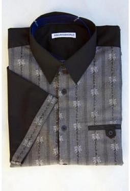 Edelweiss Hemd creativ, kurzarm
