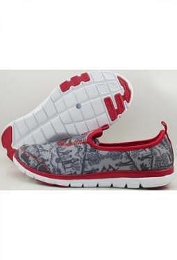 Sneaker im Scherenschnitt Design